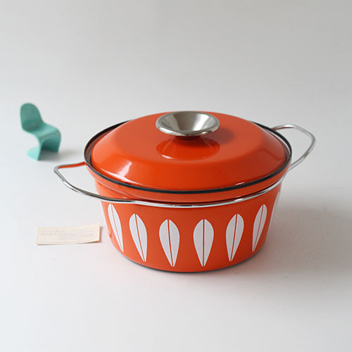 vintage cathrineholm pot (orange)