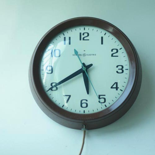 Vintage GE  Wall Clock (재입고)