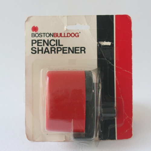 vintage Berol pencil sharpener (red)