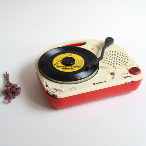 vintage National turntable