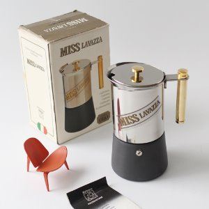 vintage Miss Lavazza Coffee Maker