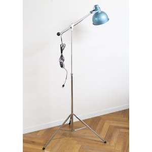vintage industrial floor lamp(Steampunk By Bretford)
