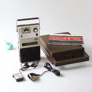 vintage CRAIG Cassette Recorder Player