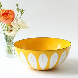 vintage cathrineholm bowl (yellow)#02
