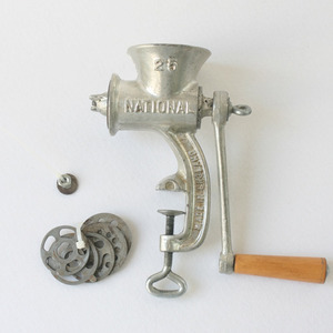 vintage NATIONAL food grinder