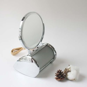 vintage light mirror