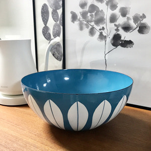 vintage cathrineholm bowl #BLUE